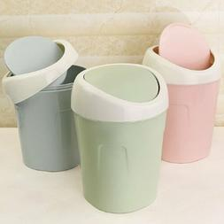 Plastic Desktops Mini Kitchen Living Room Trash Can Living R