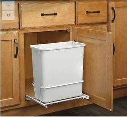 Plastic Garbage Bin Rev-A-Shelf 20-Quart for Pull Out Trash