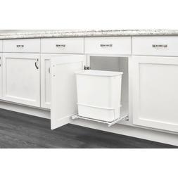 Plastic Trash Bin Rev-A-Shelf 20-Quart for Pull Out Trash Ca