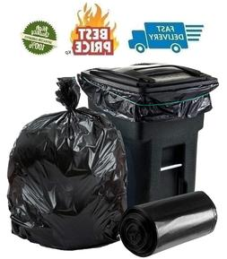 plasticplace 64 65 gallon trash can liners