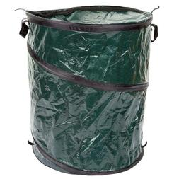 Outdoor Pop Up 33 Gallon Camping Garbage Leaf Stick Trash Ca