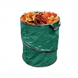 Pop Up Leaf Trash Can 13 Gallon Easy Storage, Collapsible Po
