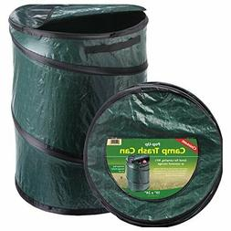 Pop-Up Trash Can Camping Cookout Grilling Multipurpose Stora