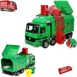 powered garbage truck toy recycle vehicle trash