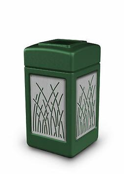 Commercial Zone Precision Series® Panels 42 Gallon Trash Ca