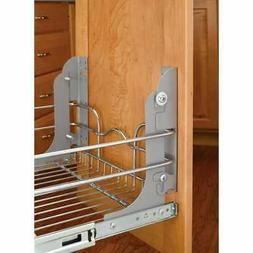 Pull Out Trash Can for Rev-A-Shelf Mounting Kit Garbage Wast