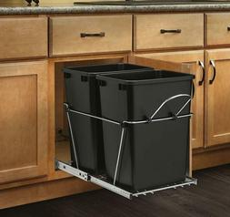 Pull Out Trash Garbage Can Waste Container Kitchen Cabinet O