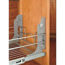 Rev-A-Shelf Pull Out Trash Can Mounting Kit Waste Container