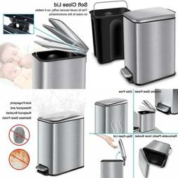 Rectangular SMALL Trash Can W Lid Soft Close & Removable Inn