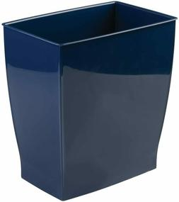rectangular trash can wastebasket garbage