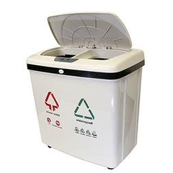 iTouchless 16 gallon Recycle Touchless Trashcan NX, 1 ea