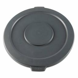 Boardwalk Round Flat-Top Lid for 32-Gal Trash Can, Plastic,