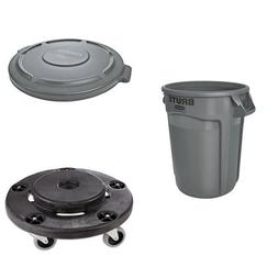 Rubbermaid Commercial Brute Heavy-Duty Waste/Utility Contain