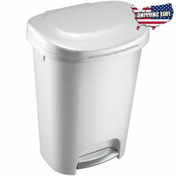 Rubbermaid Rubbermiad 13 Gal Premium Step On Can