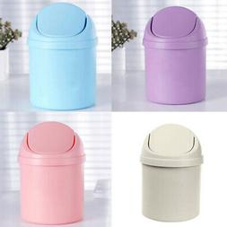 Sale Desktop Trash Can Mini Countertop Waste Garbage With Ro