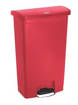 Slim Jim Resin Step-On Container, Front Step Style, 18 gal,