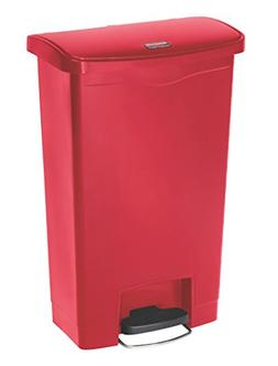 Slim Jim Resin Step-On Container, Front Step Style, 13 gal,
