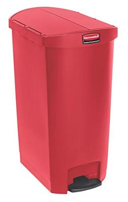 Rubbermaid Commercial Slim Jim Resin Step-On Container - 188