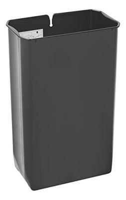 Rubbermaid Commercial Slim Jim End Step-On Trash Can Rigid L