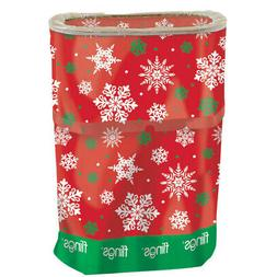 Snowflakes Fling Bin - Pop Up Party Bin