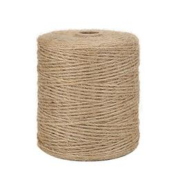 SOFT BUT STRONG Natural Jute Twine 3 Ply 984Ft for DIY Arts/