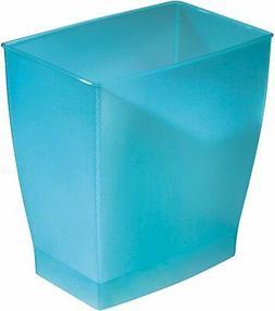 iDesign Spa Rectangular Trash, Waste Basket Garbage Can for