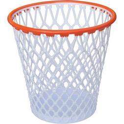 "Spalding Licensed Hoopster Wastepaper Basket, 12.5"" Rim Heig"