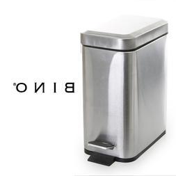 BINO Stainless Steel 1.3 Gallon / 5 Liter Rectangle Step Tra