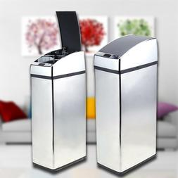 Stainless Steel Touch Free Sensor Automatic Touchless Trash