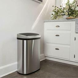 Stainless Steel Trash Can For Home Kitchen Vehicle Kids Room