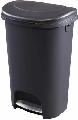 Step-On Lid Trash Can Wastebasket 13 Gallon for Home Bathroo