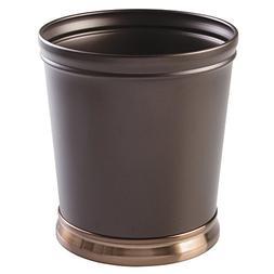 InterDesign Wastebasket Trash Can for Bathroom, Bedroom or O