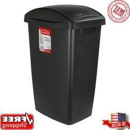 RUBBERMAID SWING TOP TRASH CAN 12.5 Gal Kitchen Wastebasket