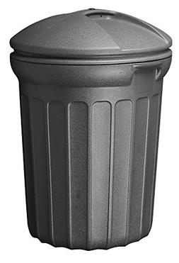 United Solutions TB0007 Round Trash/Garbage Can, 32-Gallon,