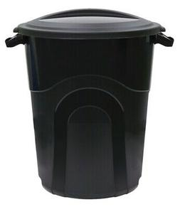 United Solutions Ti0040 Can Trash W/Lid 20gal 6 Pack