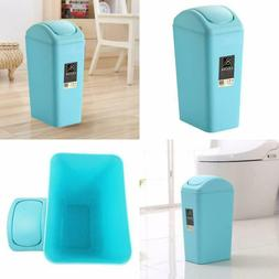 Topgalaxy.Z Bathroom Trash Can with Lid Small Garbage for Be