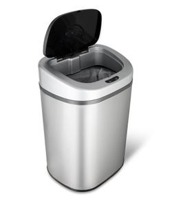Touch Less Infrared Trash Can 21 gal. Auto Open Garbage Bin