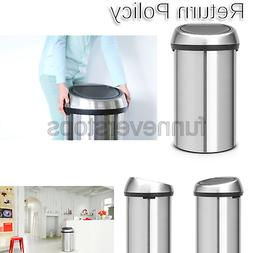 Brabantia Touch Trash Can 16 gallon/60 liter - Matte Steel F