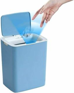 Touchless Sensor Trash Can 14L/3.7Gal Small Capacity Trash C