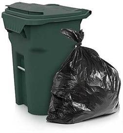 ToughBag Trash Bags, 65 Gallon, 50 Bags, Black
