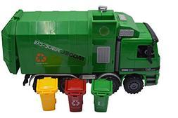 Blomiky 14.5 Inch Large Size Kids Push Toy Vehicles 3pcs tra