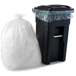 Plasticplace 95 Gallon Trash Bags, 1.5 Mil, Clear, 50 / Case