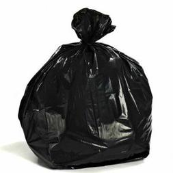 Plasticplace 35 Gallon Trash Bags, 1.5 Mil, 33W x 48H, Black