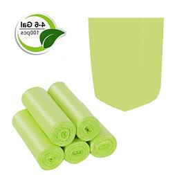 Trash Bags Biodegradable,4-6 Gallon Trash bags Recycling & D
