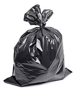 Plastico Large Trash Bags 50-Pack Black Large Garbage Bags |