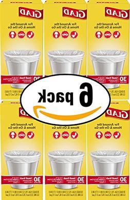 Glad Small Trash Bags, 4 Gallon, 30 Count