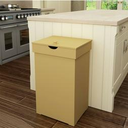Trash Bin Cabinet 13 Gallon Recycling Cans Waste Bins Wood T
