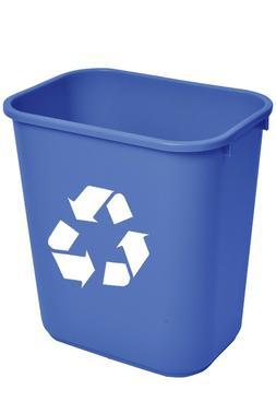 Trash Can 10 Gallon Desk Side Wastebasket 41 Quart Qt Slim R