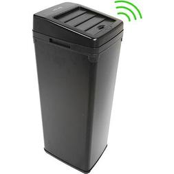 iTouchless 14-Gallon Trash Can with Infrared-Sensor Lid Open
