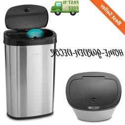 Trash Can Garbage Automatic Motion Sensor Stainless Steel To